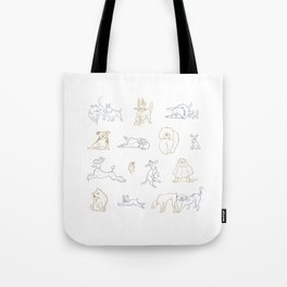 Dogs, Dogs, Dogs! Tote Bag