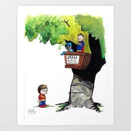 Get Rid Of Slimy Superheroines Art Print