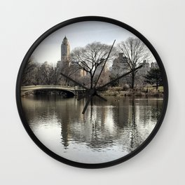 Iconic Central Park Wall Clock