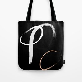 Tricolour Abstract Tote Bag