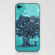 Deep Tree Diving  iPhone & iPod Skin
