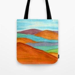 Mountain Vista - Rainbow Tote Bag