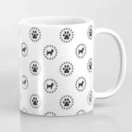 Funny Dogs Pattern Coffee Mug