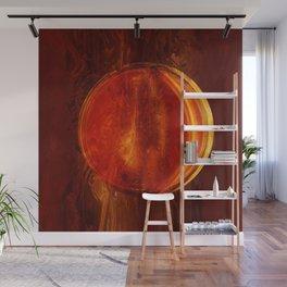 meditation orange Wall Mural