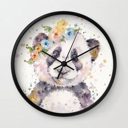 Little Panda Wall Clock
