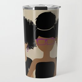 Curly Girl Trio (Royalty) Travel Mug