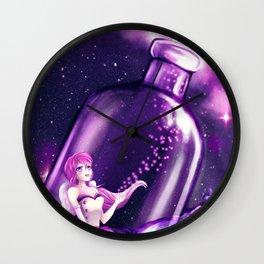 Fireflies in the Sky Wall Clock