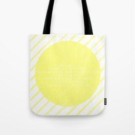 Hafez sun love quote Tote Bag