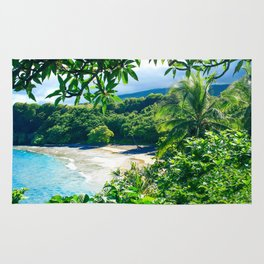Hamoa Beach Hana Maui Hawaii Rug