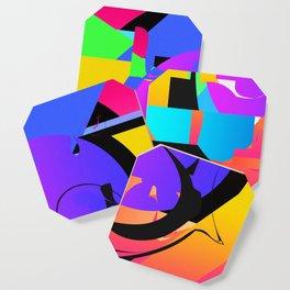 SHAPE/COLOR  DECONSTRUCT Coaster