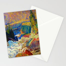 J.E.H. MacDonald Falls, Montreal River Stationery Cards