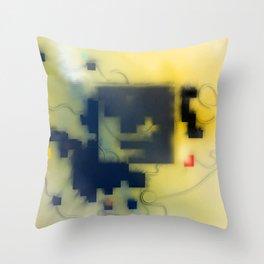 Condensed Matter Throw Pillow