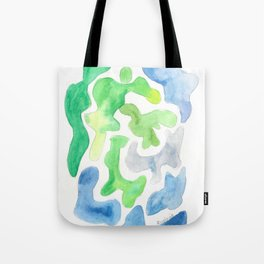 171122 Watercolour Abstract 5|abstract shapes art design colour |shapes art abstract Tote Bag