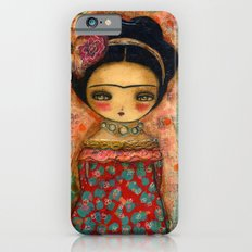 Frida In A Red And Teal Dress Slim Case iPhone 6s