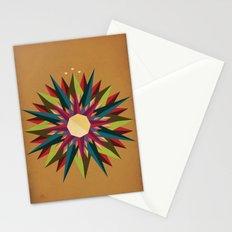 Half Circle Stars Stationery Cards