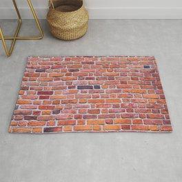 brick testure Rug