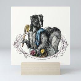 Portrait of Mr. Skunk Mini Art Print