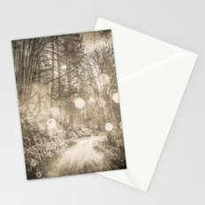 Forest Path - Vintage Sepia Magical Nature Trail Stationery Cards