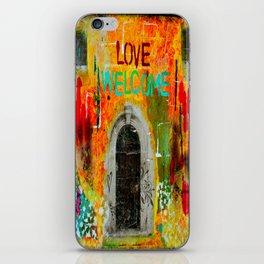 Love Welcome iPhone Skin