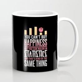 Major In Statistics - Funny Statistician Gift Coffee Mug