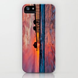 HB Sunsets 12/18/14  iPhone Case