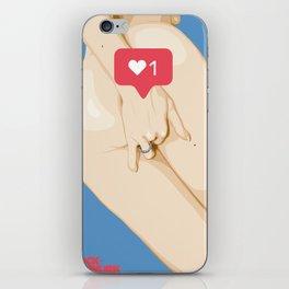 diggin' for lke iPhone Skin