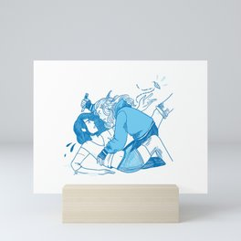 Sandbox Love Never Dies Mini Art Print