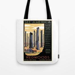 National Parks 2050: Redwoods Tote Bag