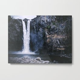 Snoqualmie State of Mind Metal Print