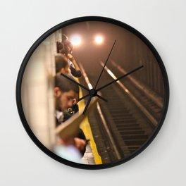 Subway Stories (Pt 1 - New York City) Wall Clock