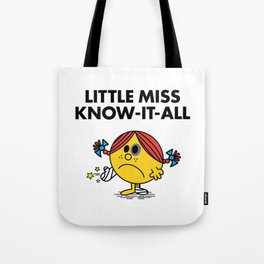 Know-It-All Tote Bag