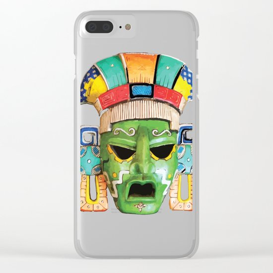 Masks of Mexico Clear iPhone Case