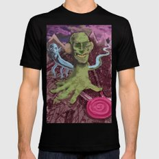 No, don't touch that lollipop! Mens Fitted Tee Black MEDIUM