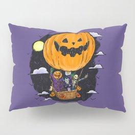 Pumpkin Hot Air Balloon Pillow Sham