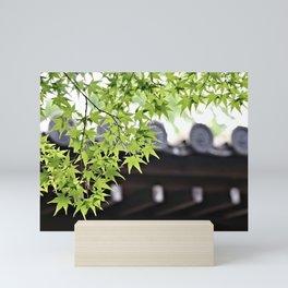 Leaf me to be Mini Art Print