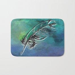 Flying Feather Bath Mat
