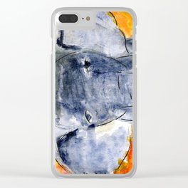 Elephants Remember Clear iPhone Case