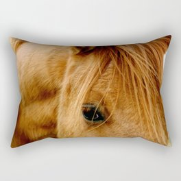 """""""a horse of a different color"""" Rectangular Pillow"""