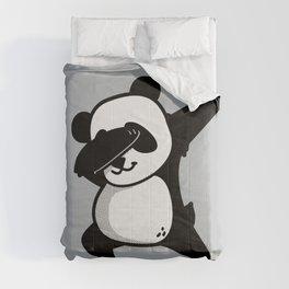 Dabbing Panda Comforters