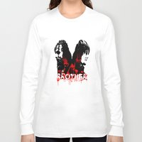 rick grimes Long Sleeve T-shirts featuring Daryl Dixon and Rick Grimes by artandawesome