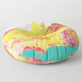 Phoenix Fire Floor Pillow