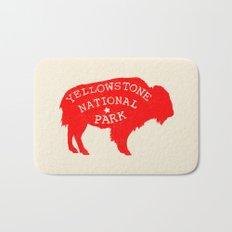 Yellowstone National Park  Bath Mat