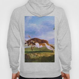Hound Coursing A Stag - George Stubbs Hoody