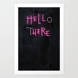 Hell Here Art Print