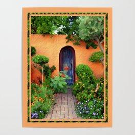 Garden Delights, Mesilla, NM Poster