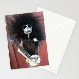 Dia de los Muertos: El Musico Calaco Stationery Cards