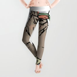 Sozoryoko Original Branding - Fancy Bear Leggings