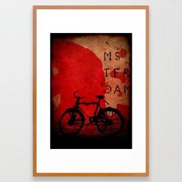 Amsterdam city poster  Framed Art Print
