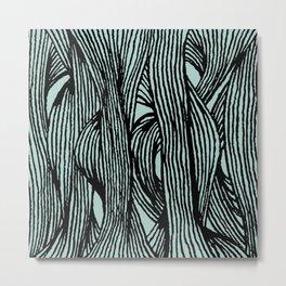 Inklines I Metal Print