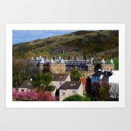 Hollyrood Palace - Edinburgh, Scotland Art Print